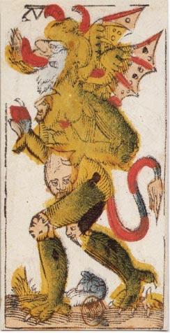 """La carte du tarot """"Valet de Coupes"""" Vieville_XV"""